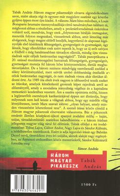 Tabák András  Három magyar pikareszk (Z-könyvek) aad1e97898